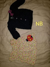baby's three assorted onesies Donna, 78537