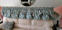 Matching velcro balloon curtains, dining room curt Barrie, L4N 7A9
