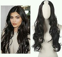 "24"" U Part Half Wig  Richmond, V6X 1V3"