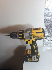 DeWalt cordless power drill with battery pack