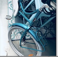 PRICE REDUCTION Like New Custom Made REPUBLIC Teal Beach Cruiser - $175 WASHINGTON