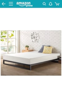 Queen Bed Frame, In Excellent Condition, Had For 4 Months Hardly Used Germantown