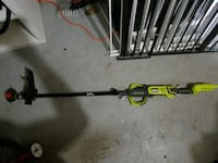 Ryobi yellow and black string trimmer