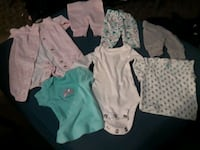 baby's assorted clothes Columbus, 43220