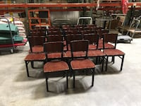 Group (16) Matching Wood Chairs $10 each Columbus, 43211