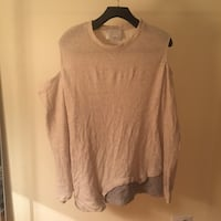 3.1.phillip Lim off the shoulder sweater Vancouver, V6E 1R5
