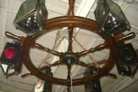 Ship wheel Chandelier  Ridley Park, 19078