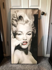 Marilyn Monroe Large picture framed Lying Down. Rockville, 20851