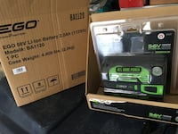 EGO Power+ Batteries and Charger - Brand New Toronto, M2R 1V3