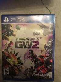 Ps4 plants vs zombies garden warfare 2 and battle field 1 Surrey, V3R 4K1