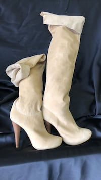 Fredericks of Hollywood full length boots 7 1/2 Deale, 20751