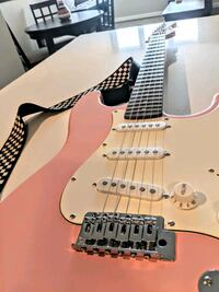 Pink Electric Guitar w/ Strap and Case! Arlington, 22202