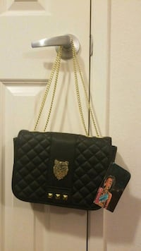 quilted black leather crossbody bag Oxnard, 93030