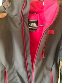 Gray the north face zip-up jacket Edmonton, T6L 7A8