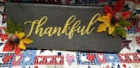 homemade thankful sign Essex, 21221