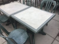 rectangular white wooden table with four chairs dining set WASHINGTON