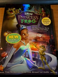 Princess and frog dvd new unopened .
