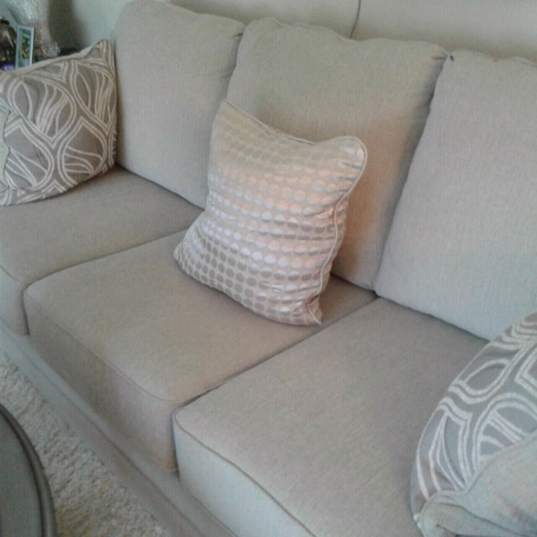 Newer sofa,loveseat and matching chair