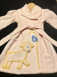 1940's Vintage Childs Chenille Robe Shaw Collar Independence, 64056