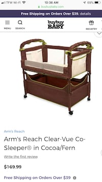 Brand new, never used Clearvue bassinet Montclair, 22025