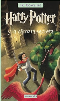 Libro Harry Potter y la Cámara Secreta Madrid, 28017
