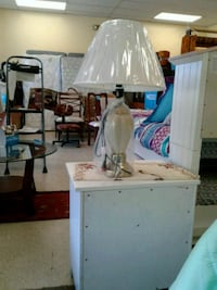 white and brown table lamp Brockton, 02302