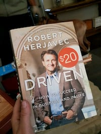 Robert Herjavec Driven Book St. Catharines, L2M 1T9