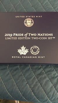 2019 pride of two nations coin set Lexington, 29072