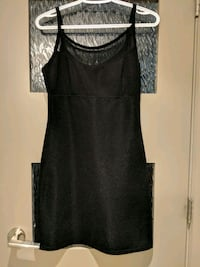 Black 7% spandex dress with some sheer Calgary, T2E 0B4