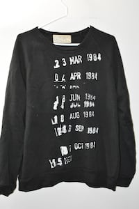 """Out of Print """"Library Card"""" Sweater Waterloo, N2L 1V8"""