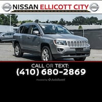 2016 Jeep Compass Latitude Ellicott City