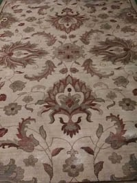 white and brown floral area rug 2322 mi