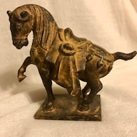 "Vintage Asian-Style Horse Statue (5.5""H x 6.5""W) Ansonia, 06401"