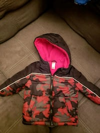 red and black camouflage zip-up hoodie Winnipeg, R2W 2B3