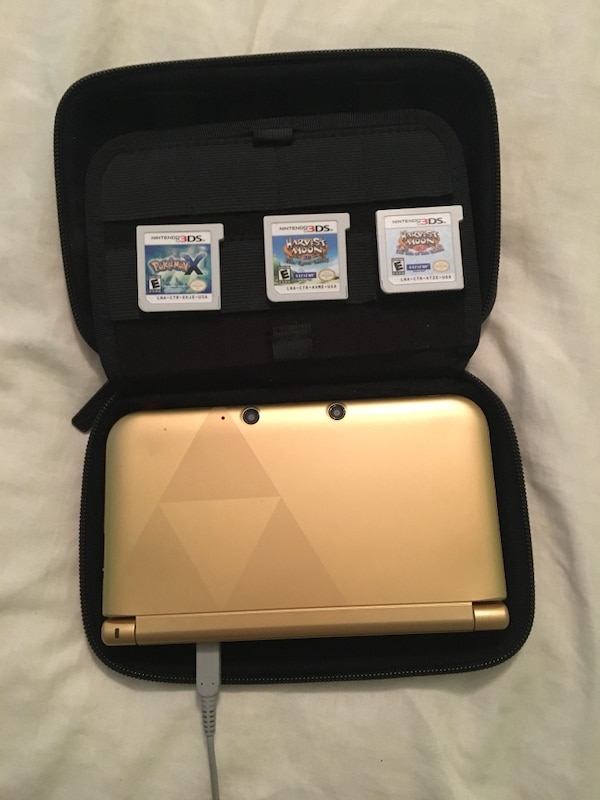 Limited Edition Black & Gold 3DS XL