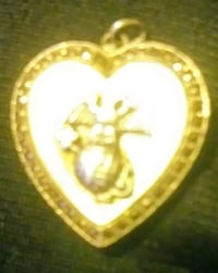 USMC STERLING LOCKET