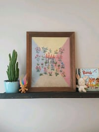 Vintage Cross Stitch - 1970s embroidery Hamilton, L8K 2H1