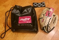 "Rawlings LH120 12""Glove with leather bag and strap St. Peters, 63376"