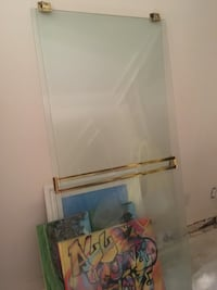 FREE shower tub glass enclosure can also be used as a glass table top first to pick up