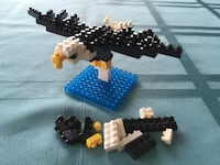 Nanoblock Bald Eagle set New Market, 21774