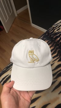 White OVO hat