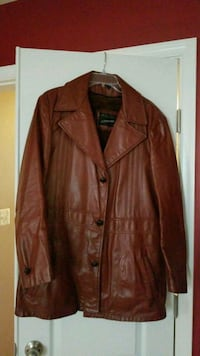 70s style leather jacket  Brandywine, 20613