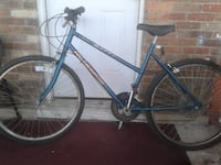 blue and black road bike CHEVYCHASE