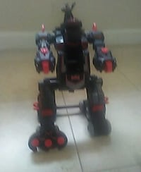 gray and red plastic robot toy Coral Springs, 33065