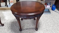 Oval Solid Mahogany Table Chesapeake