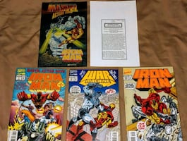 Marvel Classic Collector's Pack - 3 Comic Books + 4 Artwork Sheets