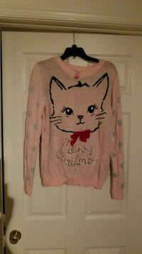 New with tags meowy Christmas sweater Owings Mills, 21117