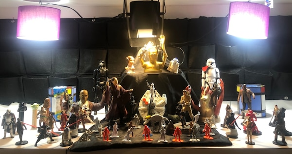 Star Wars collectibles number 1 of 3 1