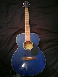 Blue acoustic guitar Calgary, T2K 5C8