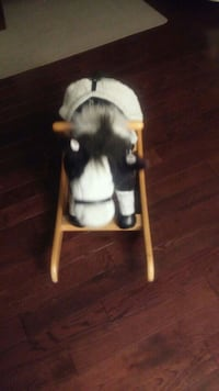 black and white dog plush toy Cambridge, N1T 1P1